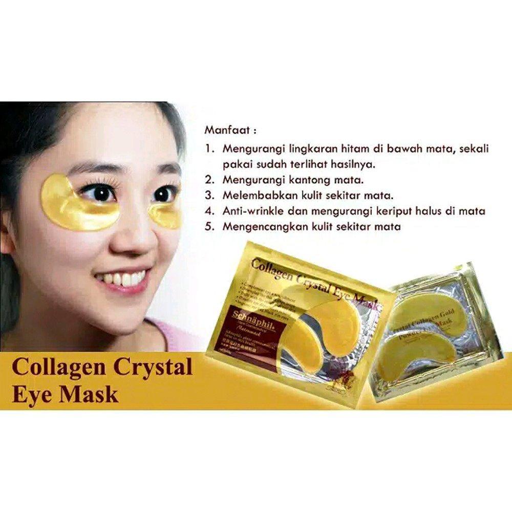 Detail Gambar Stokgrosir M3>masker mata collagen (3 pcs) Terbaru