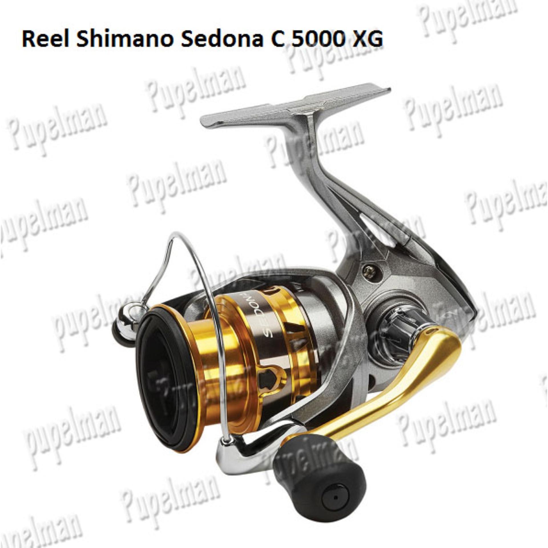 Reel Shimano Sedona 5000XG C C5000XG 5000 XG Pancing Gulungan Spinning Rel
