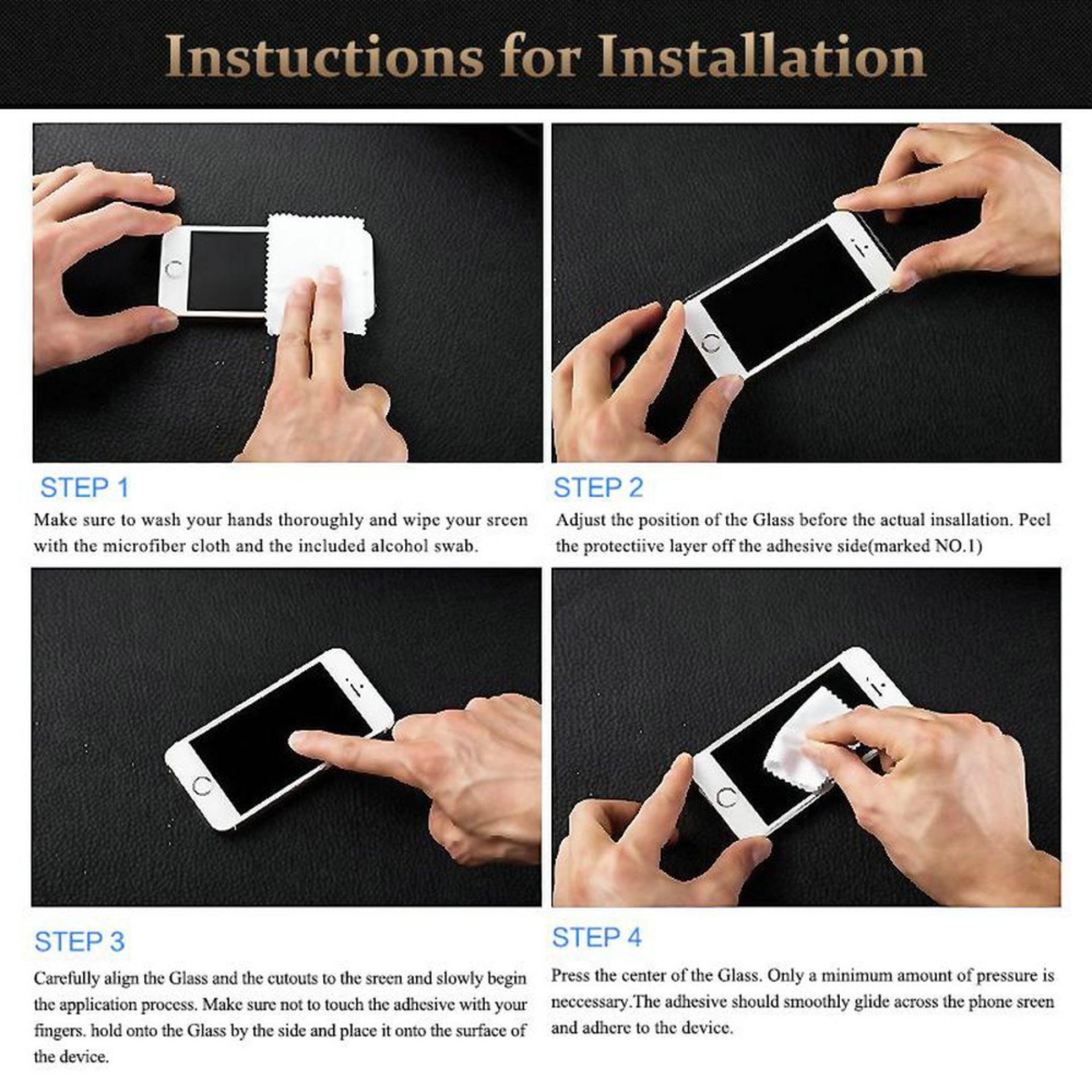 Poluca Tempered Glass Screen Protector Anti Gores Kaca Samsung Galaxy J4 Plus (