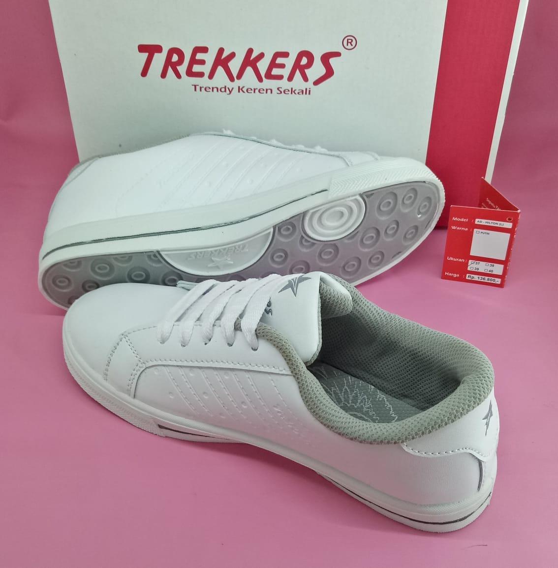Fitur Trekkers Hilton Sepatu Senam Wanita Putih 37 40 Dan Harga Ardiles Estelle Women Running Shoes Hitam 39 Detail Gambar Terbaru