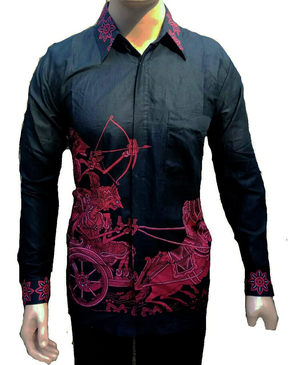 Jual Baju Batik pria lengan panjang Kemeja Batik Pria Lengan Panjang Kemeja  Batik Pekalongan 832b616071