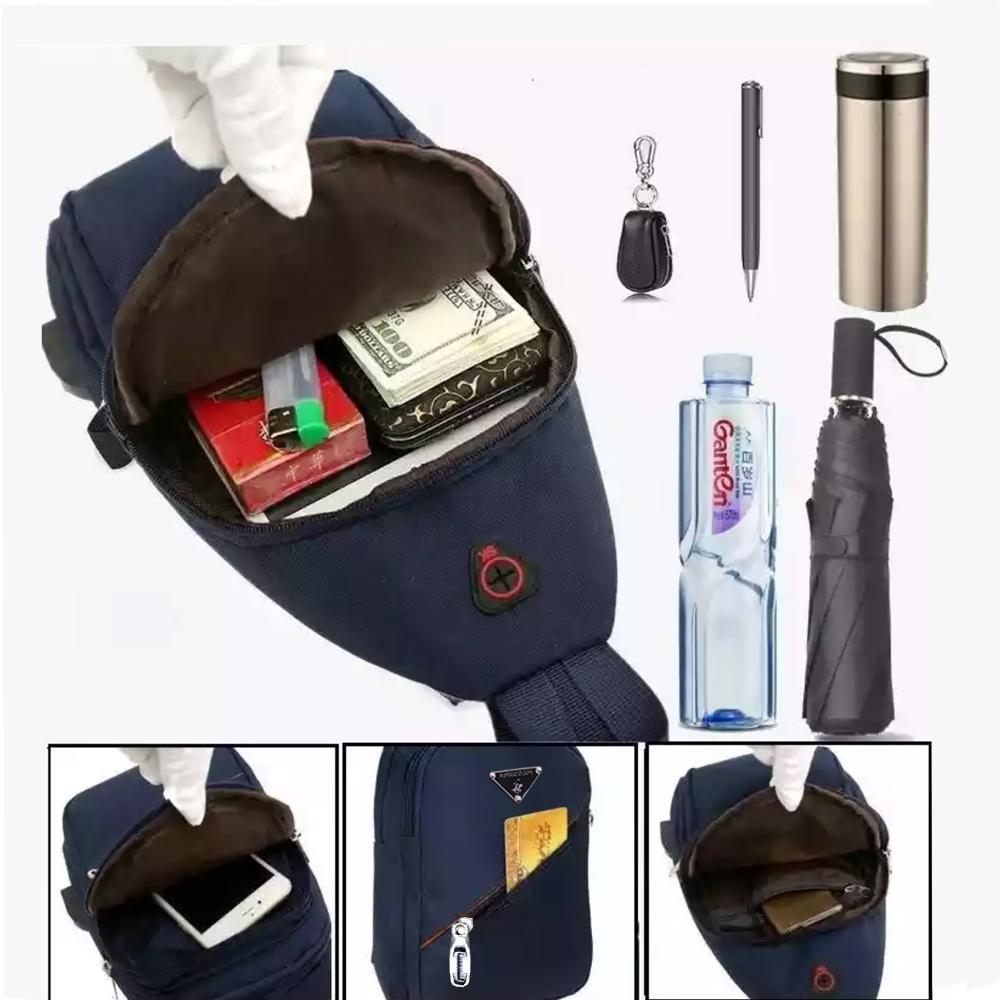 Fitur Pelangi Tas 2 In 1 Polo Super Pria Wanita Usb Kulit Fungsi Sling Bag Backpack Detail Gambar Impor Rz 77065 Terbaru