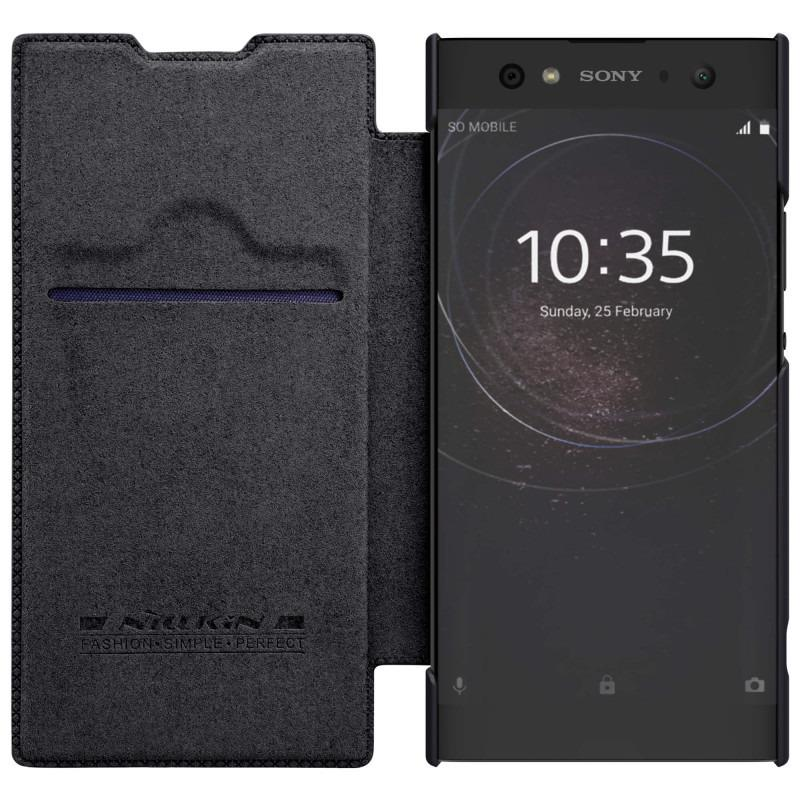 Nillkin Original Qin Series Leather case for Sony Xperia XA2 Ultra - Hitam