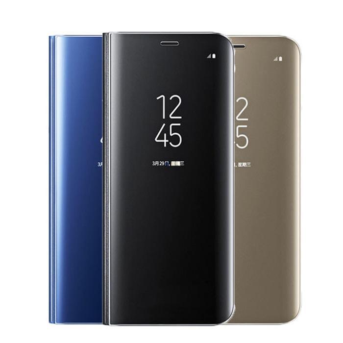 Kelebihan Samsung Galaxy S8 S8 Plus Clearview Flipcover Ori Ic