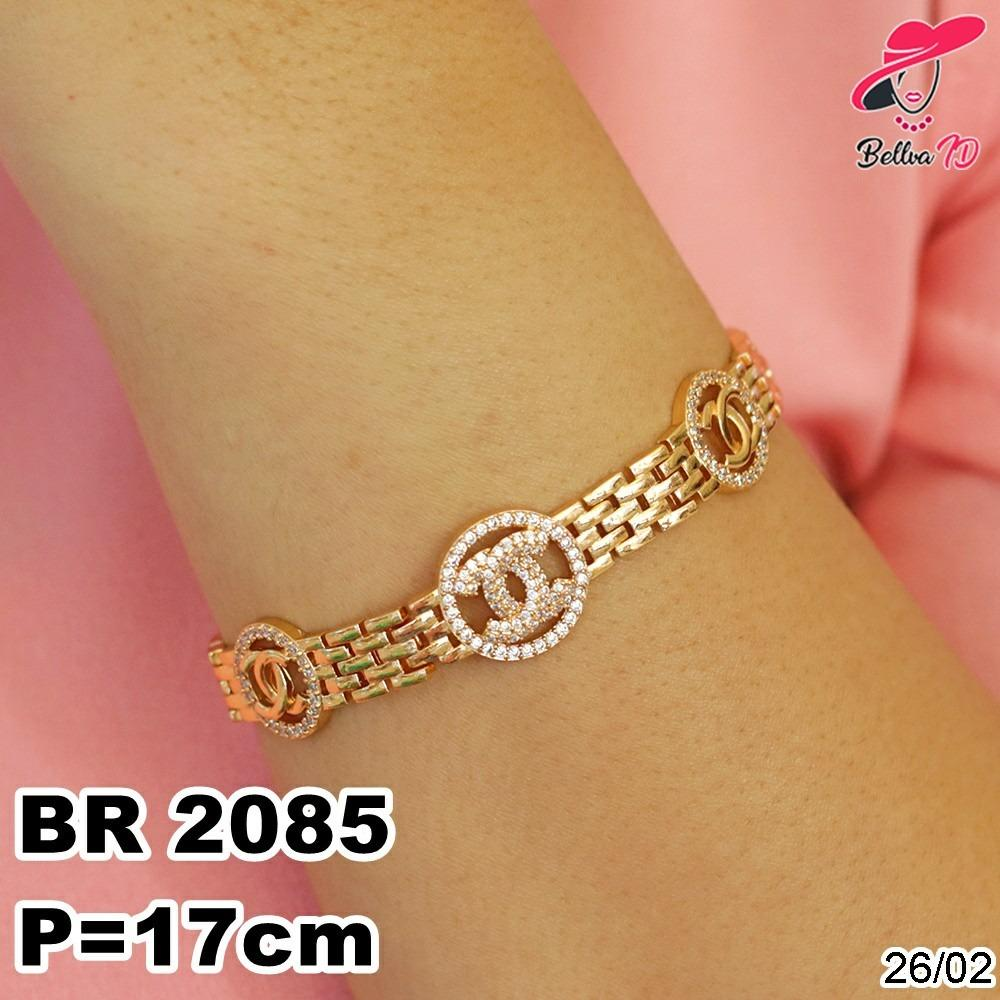 Gelang Lapis Emas Exlusive Channel R 2085