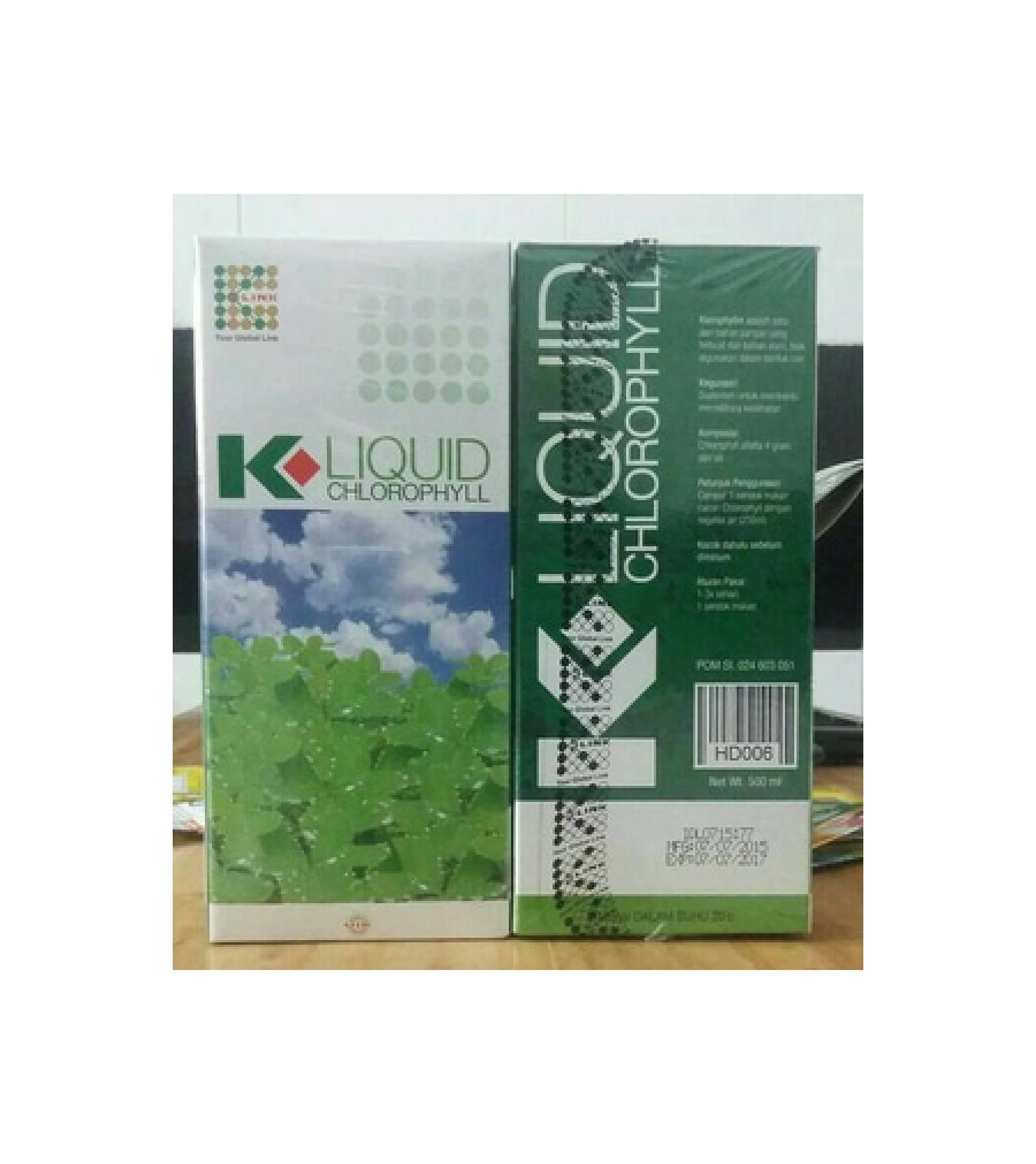 Kliniksunnah K Link Klorofil Liquid Chlorophyll 500 Ml Daftar Klink 500ml Clorophyl