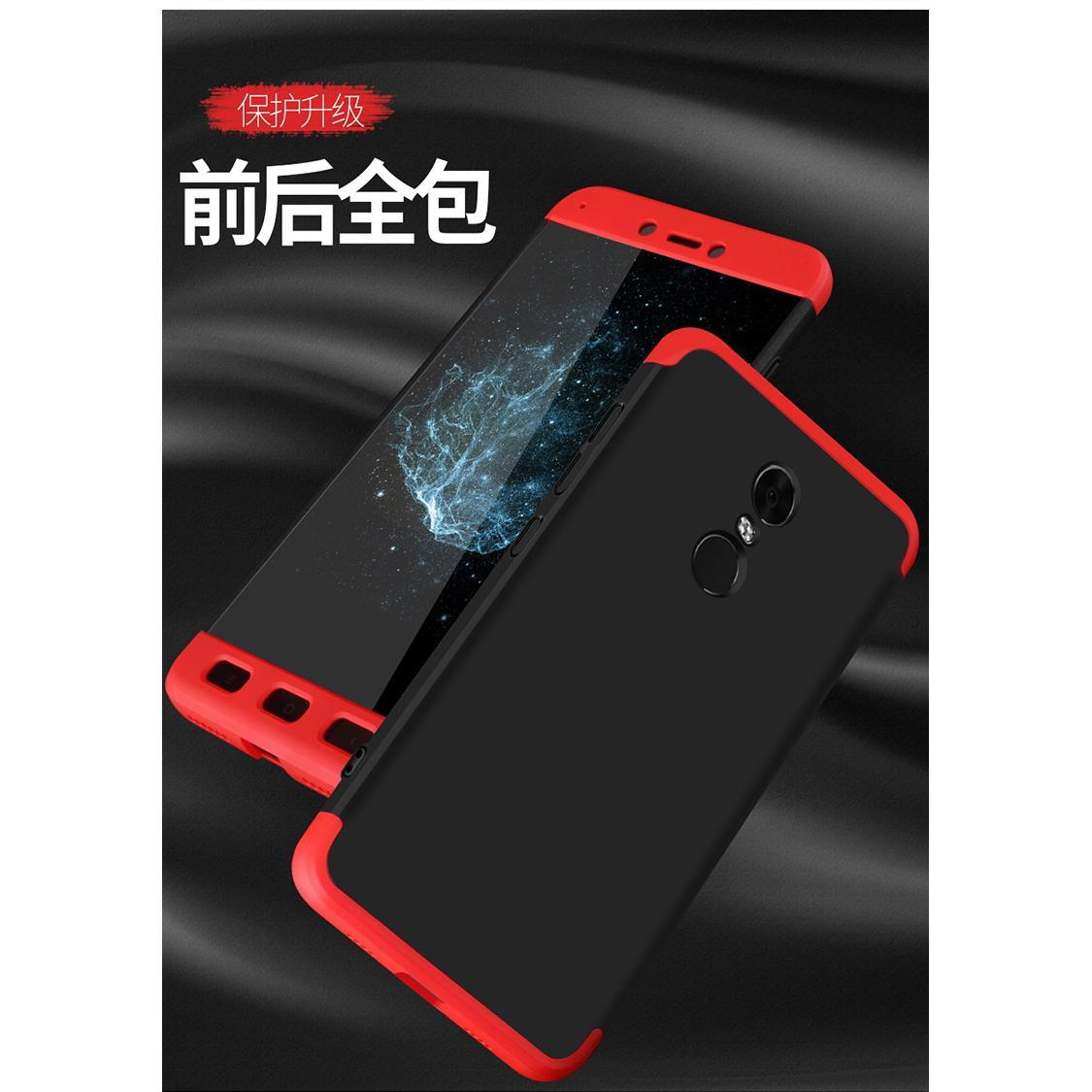Fitur Case Hardcase 360 Full Protection Xiaomi Redmi Note 4x Dan Ume Tempered Glass 4