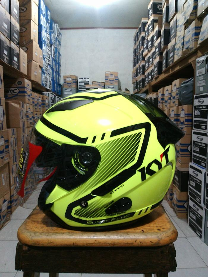 helm KYT GALAXY 2 visor superfluo