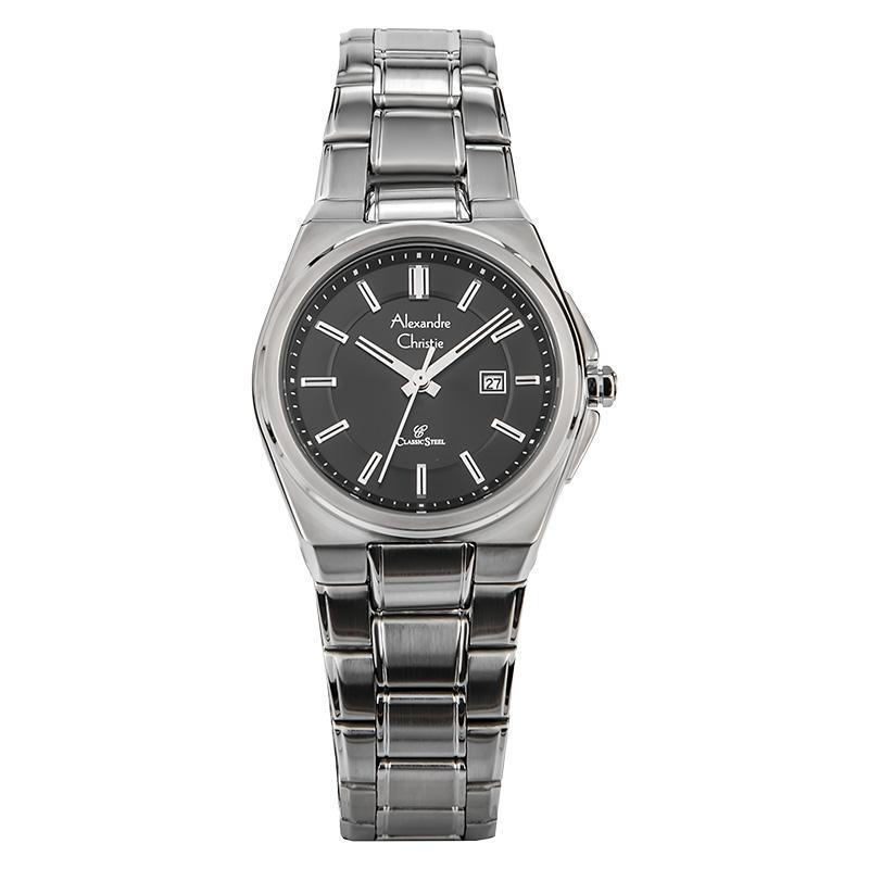 Alexandre Christie AC  8506 LDBSSBA Jam Tangan Wanita Stainless Steel Bracelet