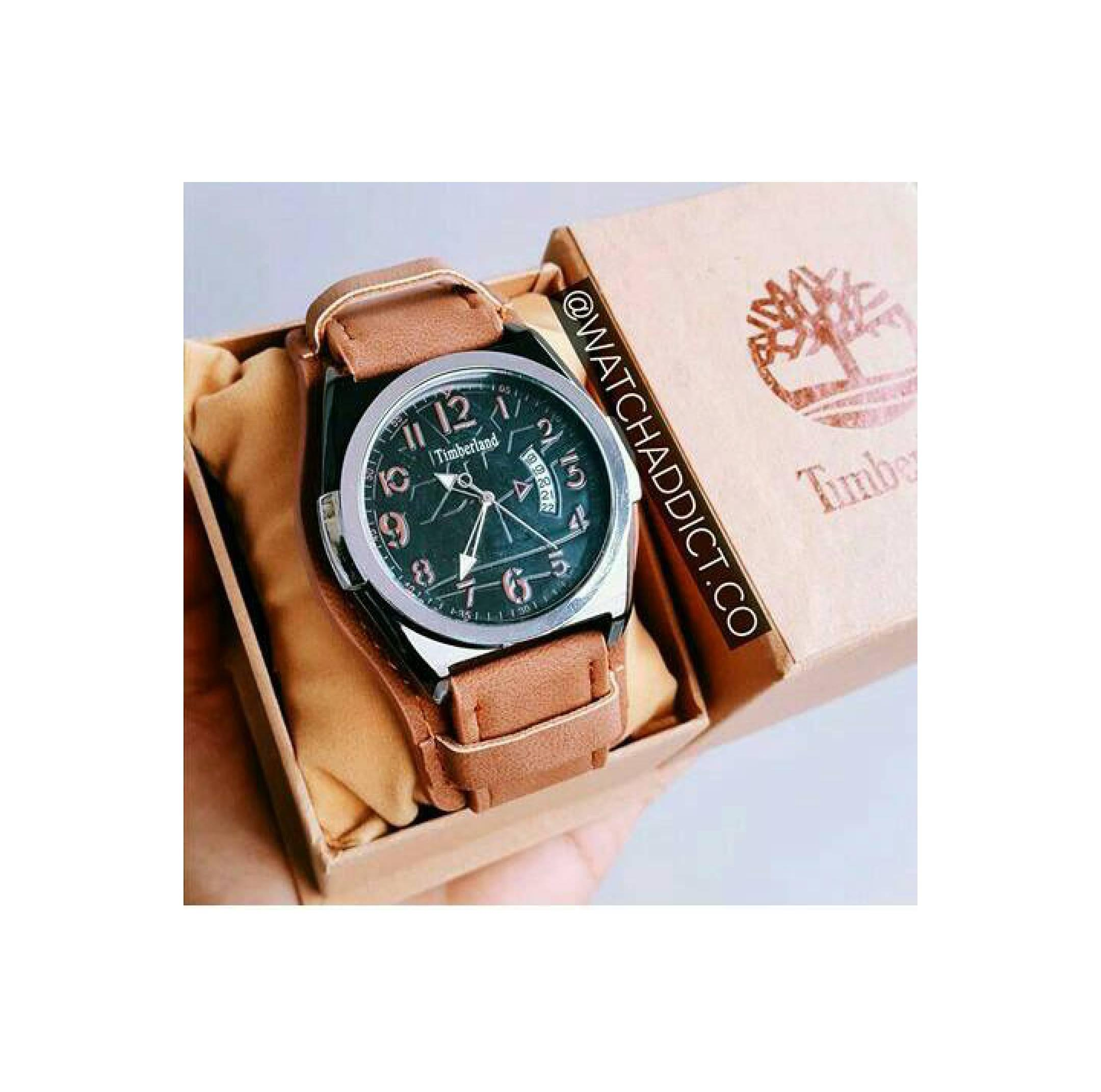 Timberland Jam Tangan Pria Coklat Strap 14297 Original Obral Ume Ultrathin Silicone Jellycase Softcase Casing For