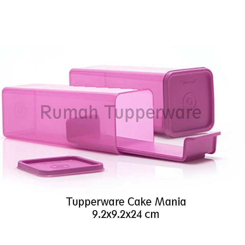 Tupperware Cake Mania (2pcs tempat Kue) wadah kue