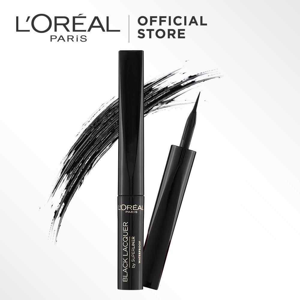 Promo Toko L Oreal Paris Super Liner Black Lacquered