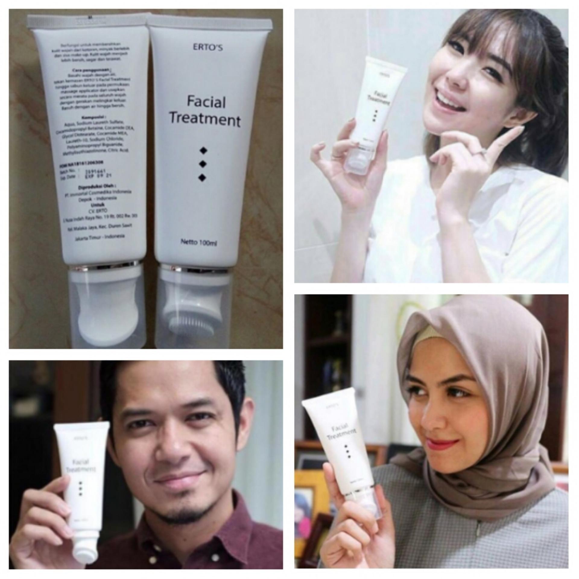 Cek Harga Baru Ertos Facial Treatment 100 Ml Original Dan Bpom Facian
