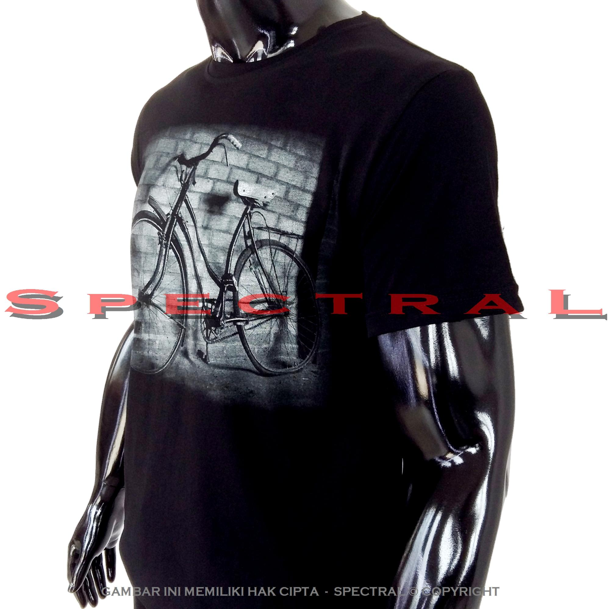 ... Spectral - SEPEDA 100% Soft Cotton Combed 30s Kaos Distro Fashion T-Shirt Atasan ...