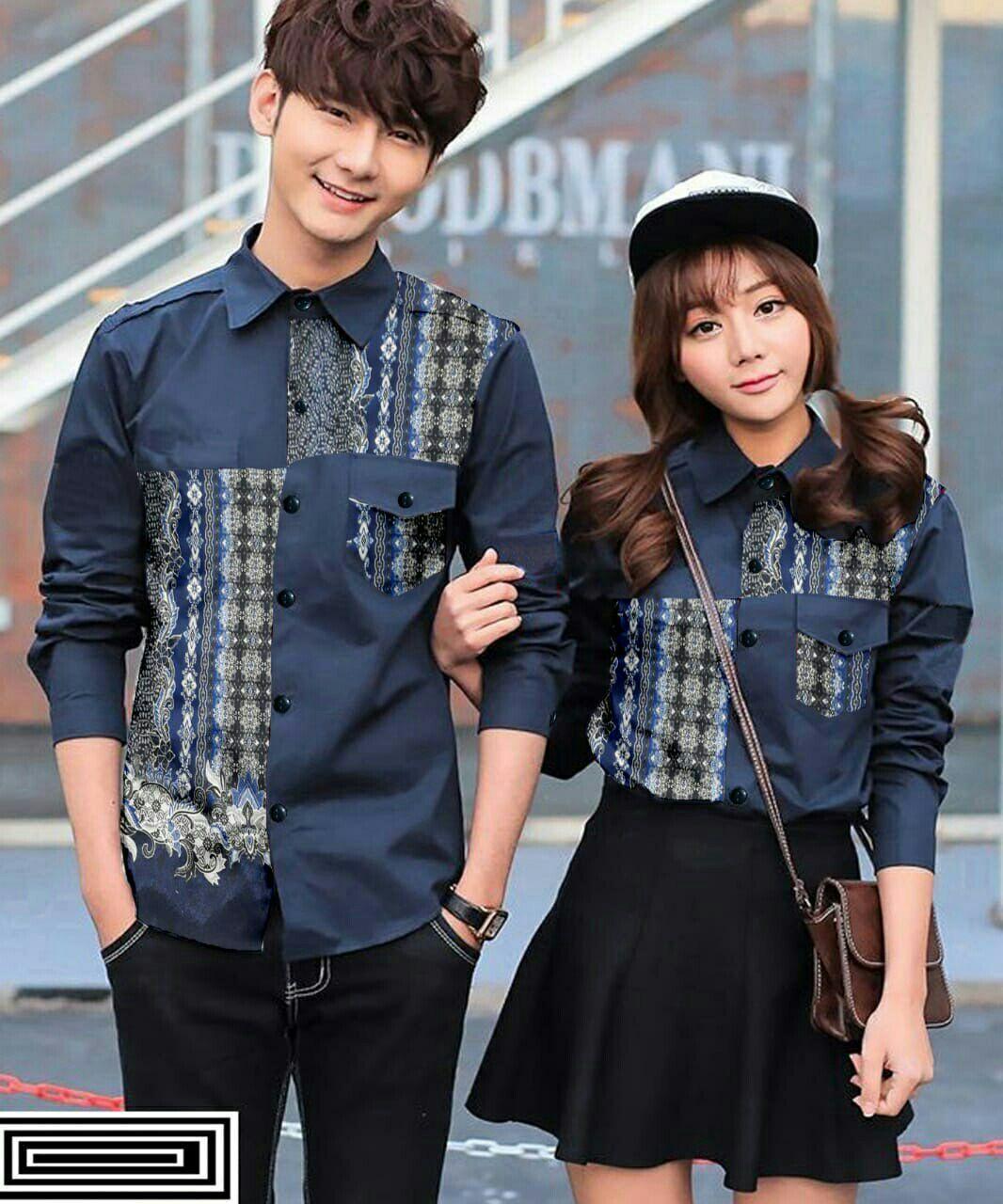 Lazda/Nf/Cp Eudora/Baju batik pasangan