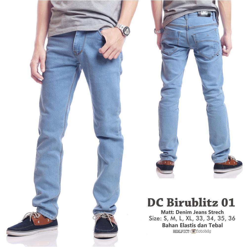 Cek Harga Baru Celana Jeans Bioblitz Pria Cutbray Skinny Premium Best Seller