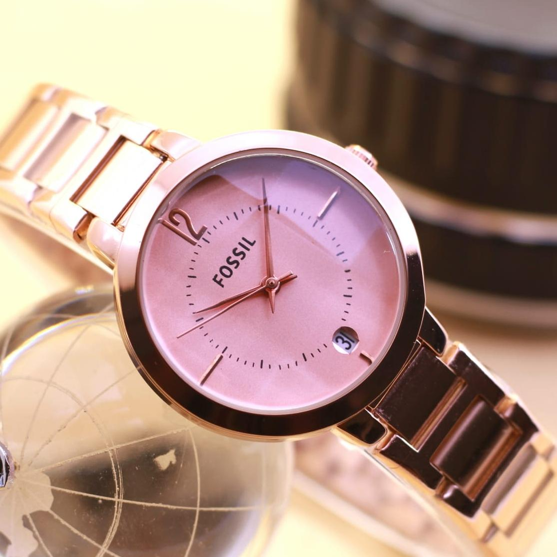 Jam Tangan Wanita Fossil F0707 11 Daftar Harga Terlengkap Indonesia Ch3016 Abilene Chronograph Light Brown Fashion Tgl 3