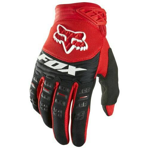FOX DIRTPAW RACE 2014 Red Black Sarung Tangan Cross Import
