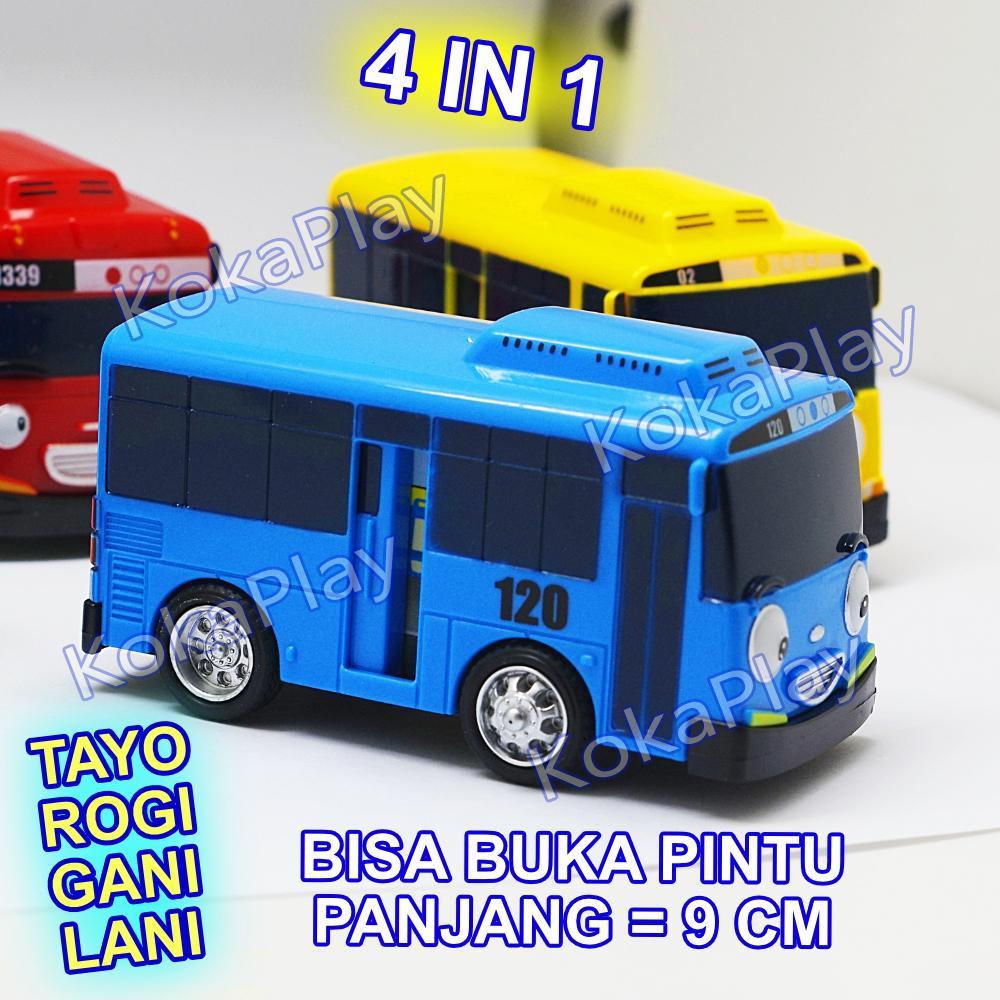KokaPlay Tayo Little Bus 4 in 1 Set Open Slide Door Big Size Pullback Action Mainan Anak Edukasi Bis Tayo Buka Pintu Lani Gani Rogi 2.jpg