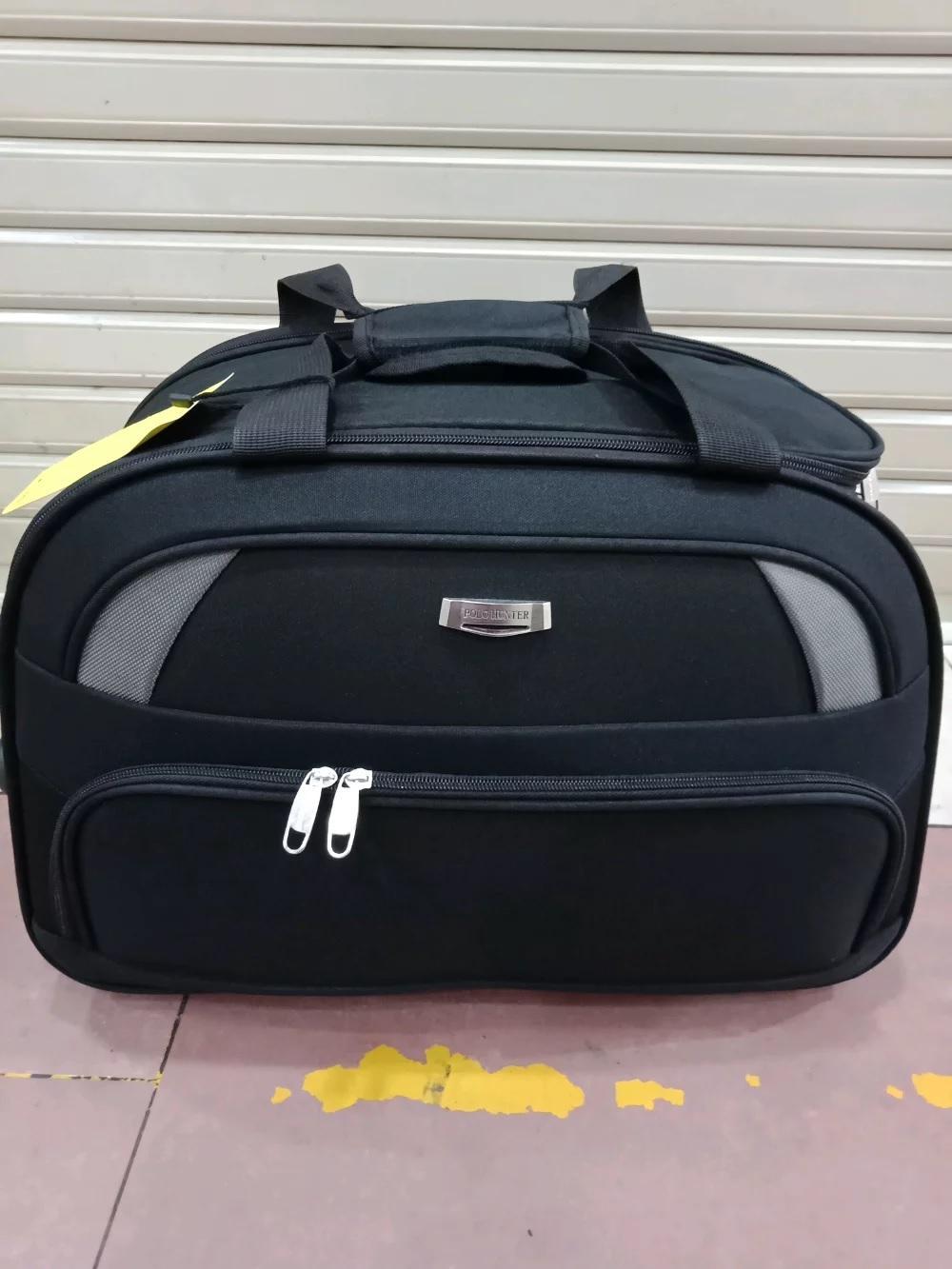 Detail Gambar Tas Travel Bag Trolley Polo Hunter Roda 2 Ukuran Cabin Terbaru 3fac72f90b