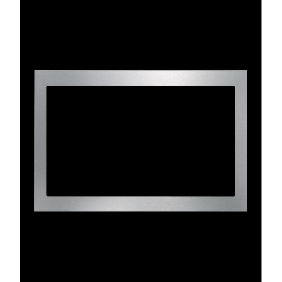 Promo Modena Fm 2500 Built-In Frame For Microwave Oven - Stainless Steel - Usable For Mg 2502