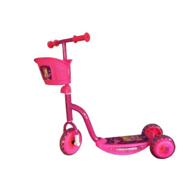 Skuter /otopet /scooter roda 3 pink