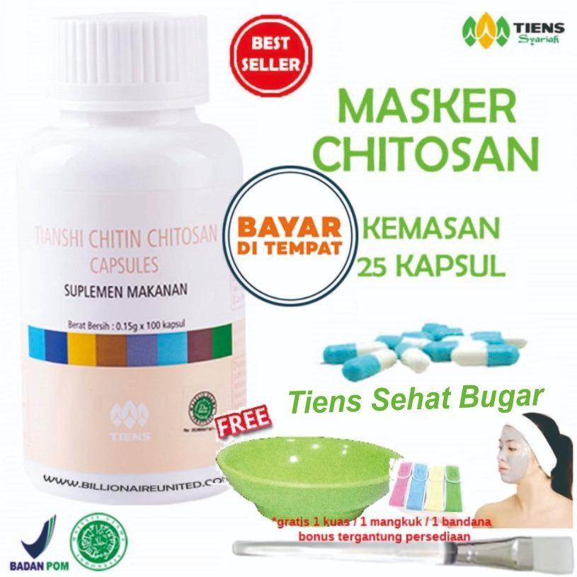 Ulasan Tentang Tiens Masker Herbal Anti Jerawat Paket 25 Kapsul Gratis Hadiah Random By Tiens Sehat Bugar