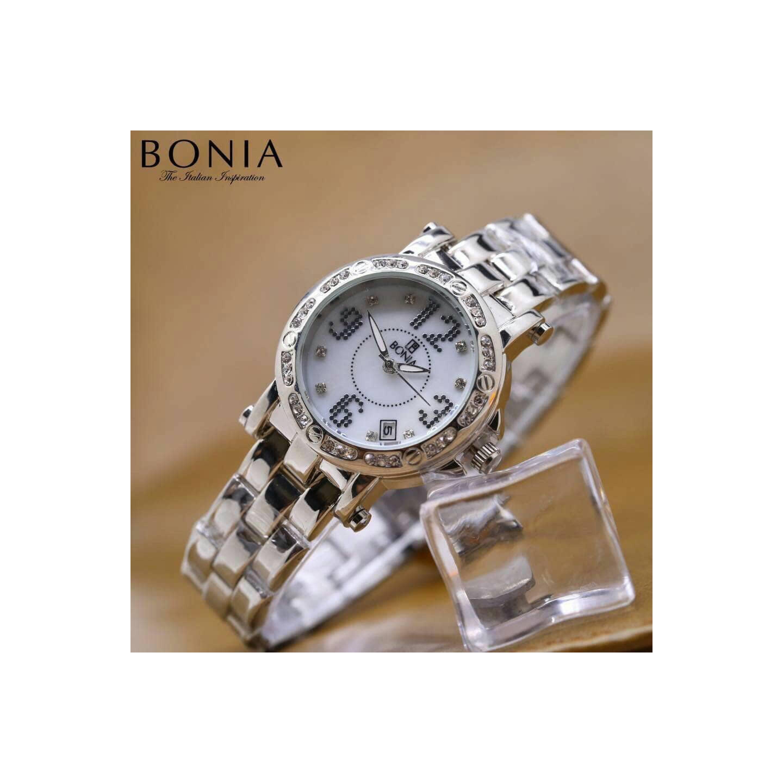 Bonia B845 2337 Brown Silver Jam Tangan Wanita Daftar Harga Valentino Rudy Vr108 Black Murah Jtr 1002