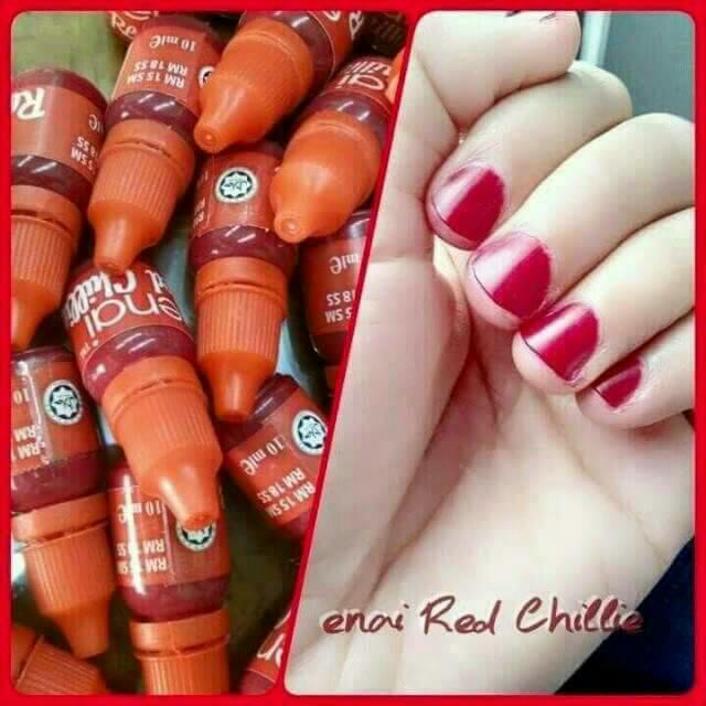 Features Inai Henna Enai Red Chilli Merah Cantik Dan Harga Terbaru