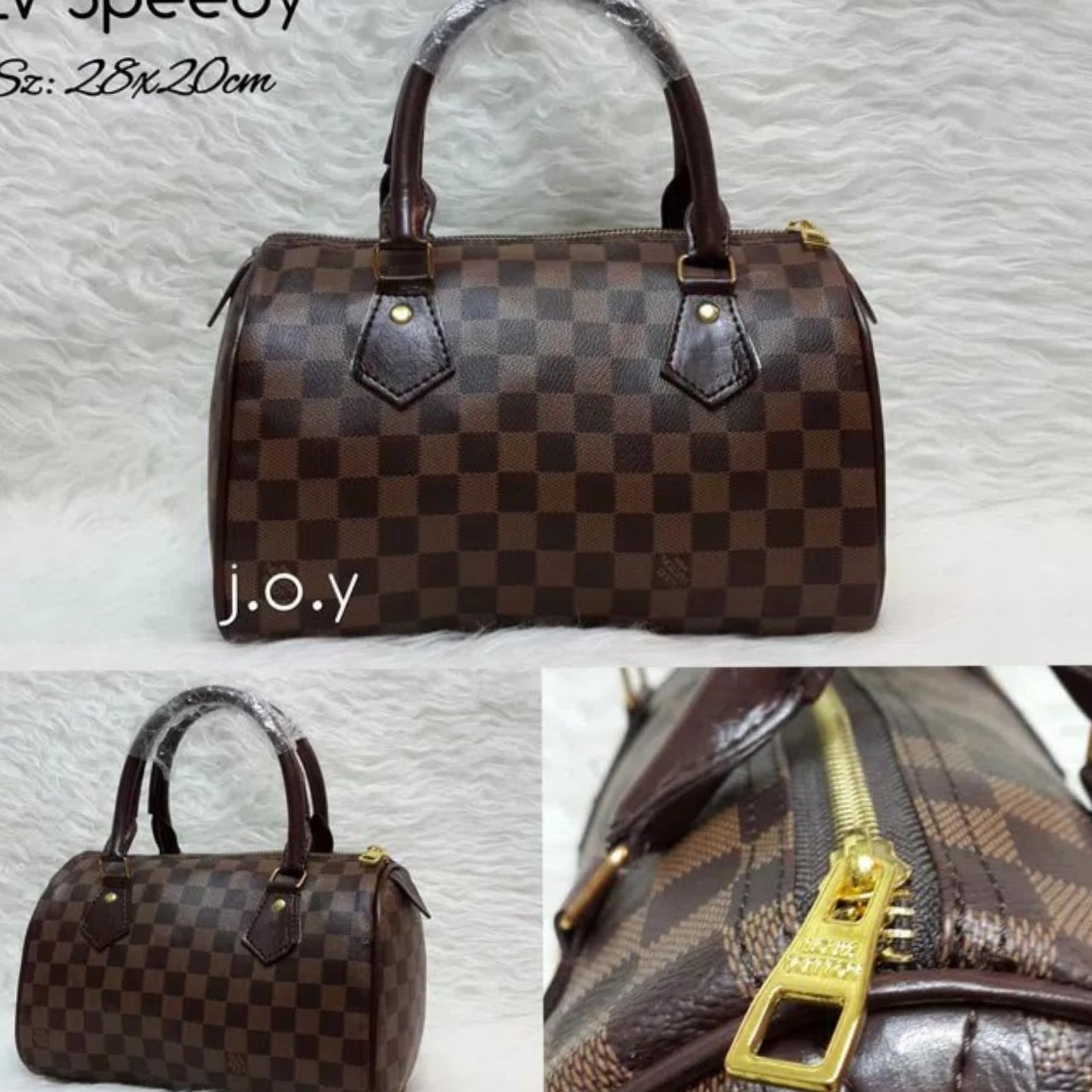 Tas Selempang Wanita Sling Bag LV Speedy / Khisan Store