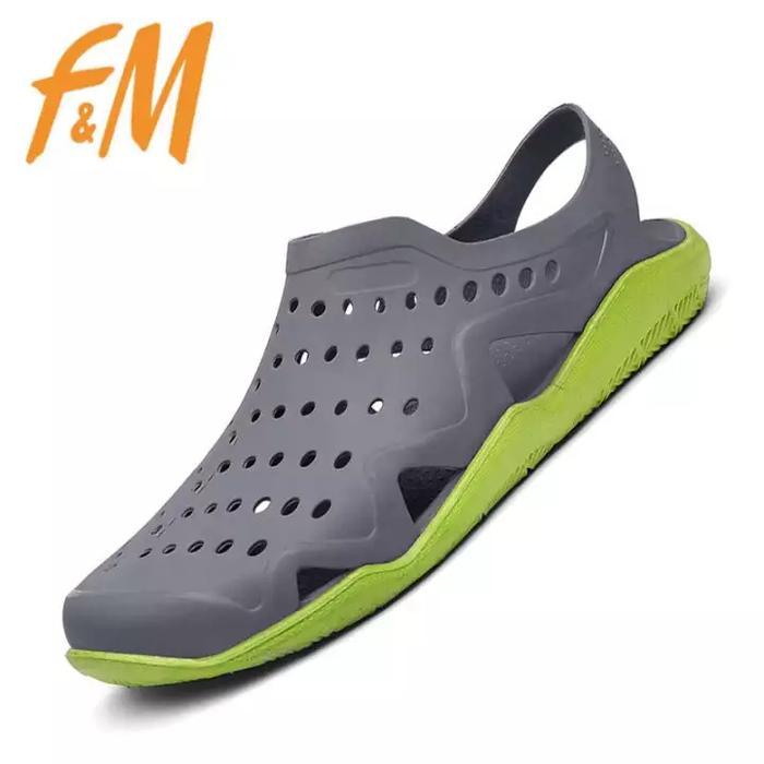 Sepatu cowok pria karet like crocs swiftwater - sDLsgx