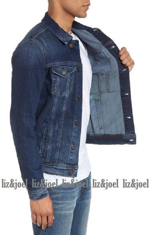 ... LJ - jaket jeans denim pria biowash premium // HOT ITEM - 3