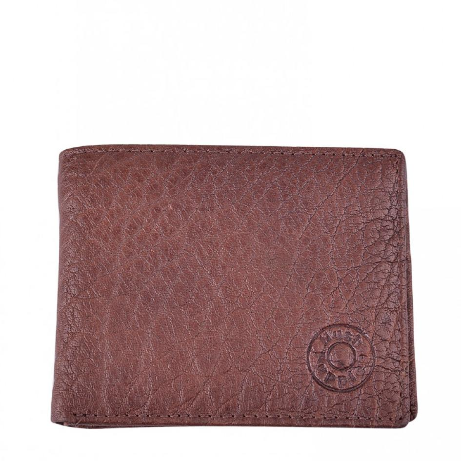 Dompet Hush Puppies Original Mens Wrink Billfold Brown