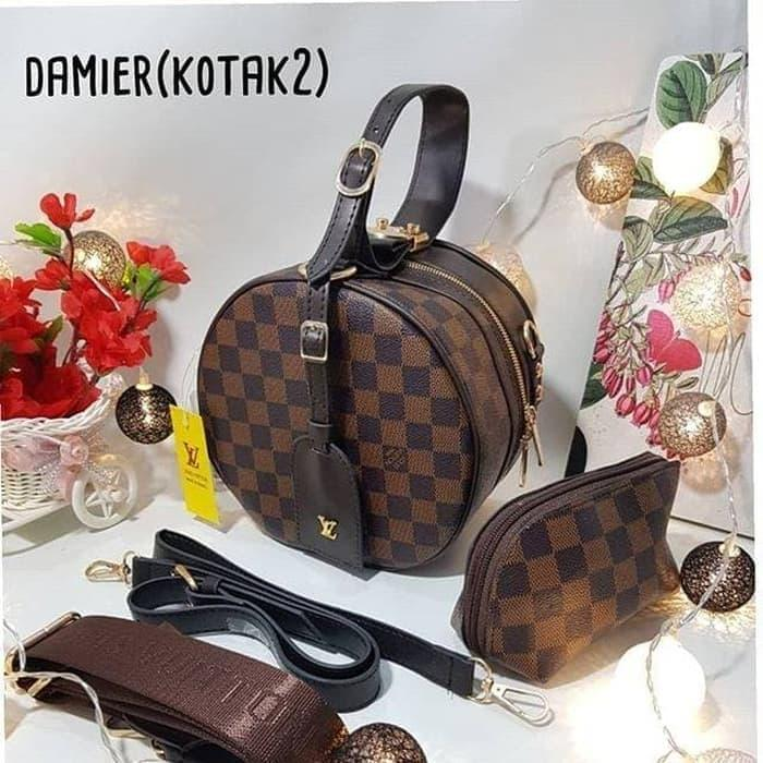 Louis Vuitton Petite Boite Bag 8008 In Monogram Set Sertifikat ... 205d570648