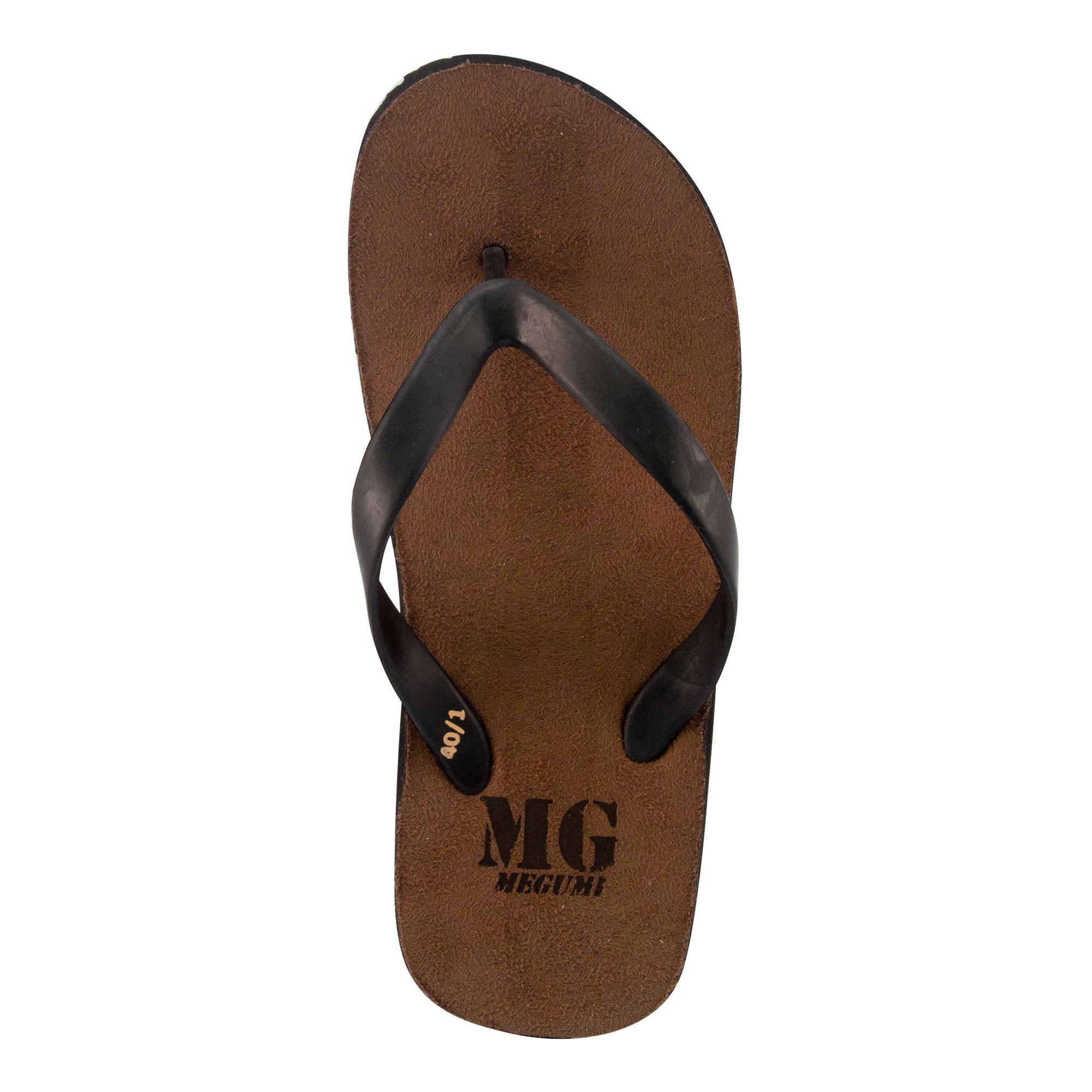 ... Megumi Ebony - Sandal Jepit Pria - Hitam - 4 ...