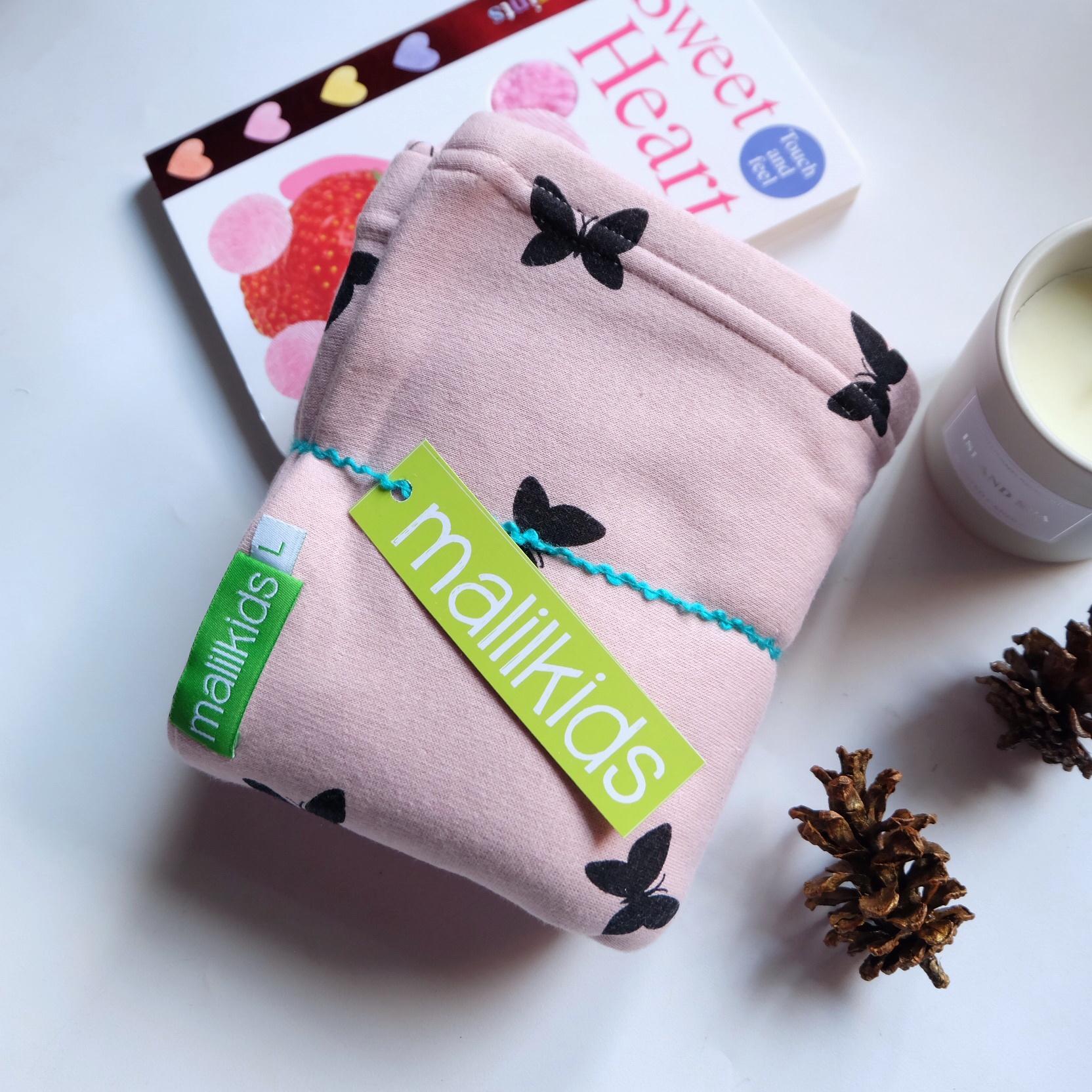 Detail Gambar Gratis Pouch! Size S - Malilkids Geos / Gendongan Kaos Premium / Gendongan Instan - Model Pink Butterfly Terbaru