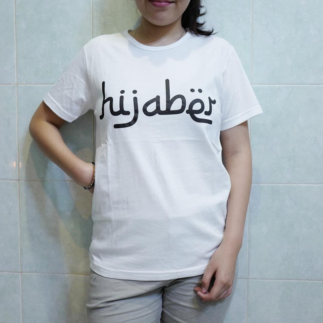 POLARISSHIRT - T-shirt Baju HIJABER Tumblr Tee Cewek / Kaos Wanita / Tshirt Cewe