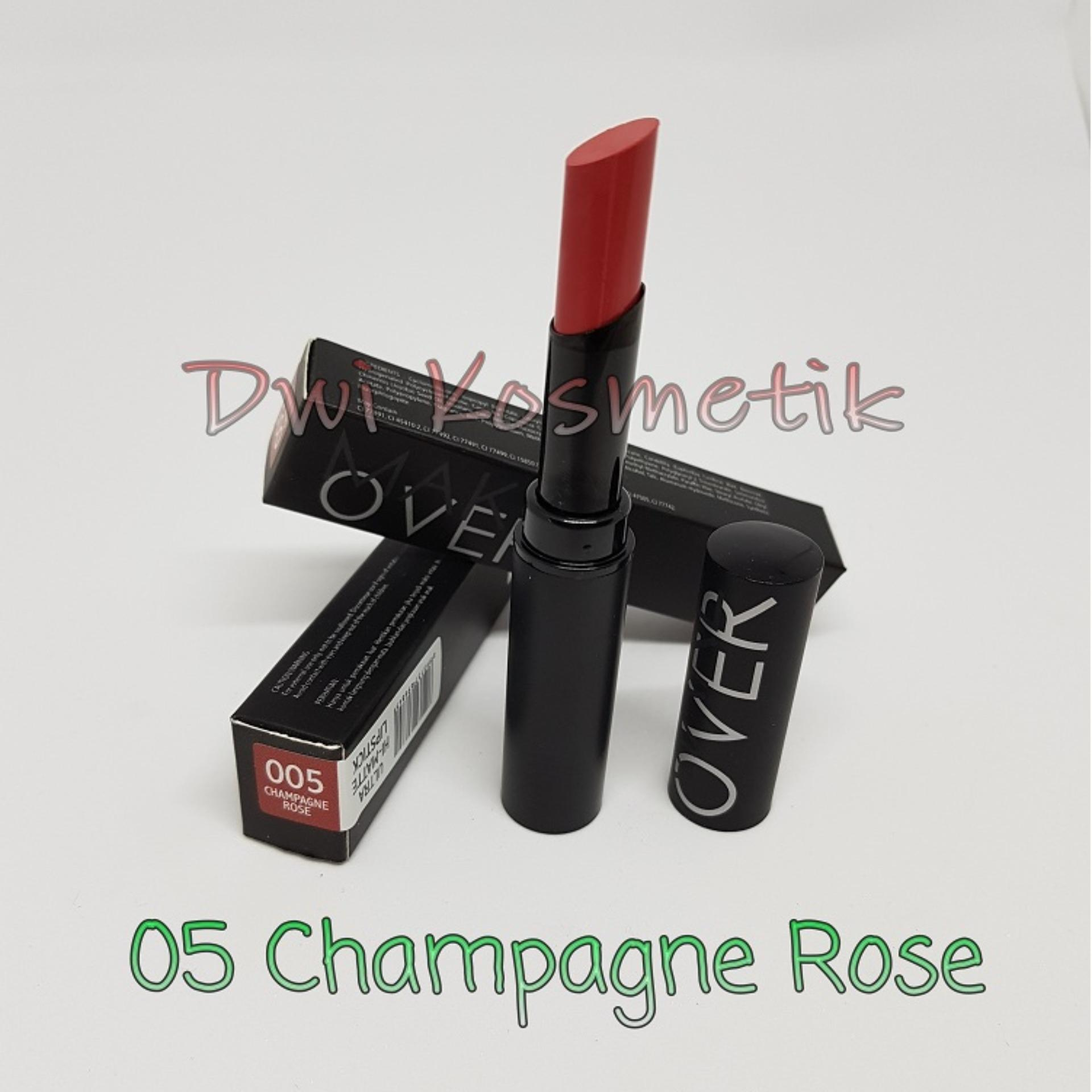 Jual Make Over Ultra Hi Matte Lipstik Baru