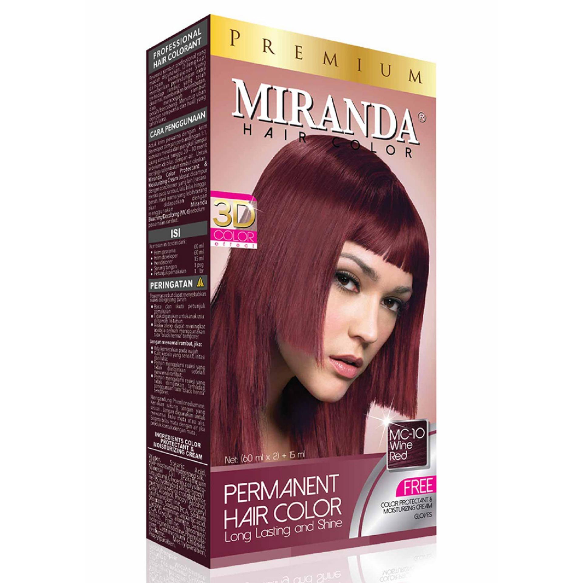 Diskon Besar Miranda Permanent Hair Color Cat Violet Red Mc 08 ... be0d33c740