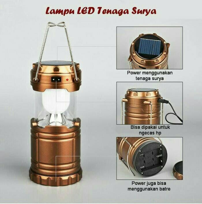 ... LAMPU LENTERA SENTER MINI / LENTERA TARIK + POWERBANK EMERGENCY - 3