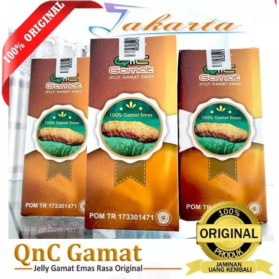 Diskon Qnc Jelly Gamat Obat Herbal Alami 100 Asli Original Qnc Jelly Gamat