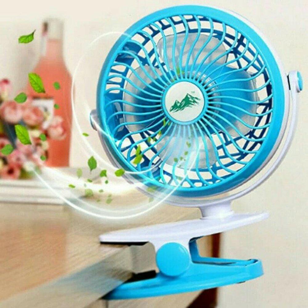 Kipas Angin Jepit Teckyo Mini Fan 05 Portble Charger