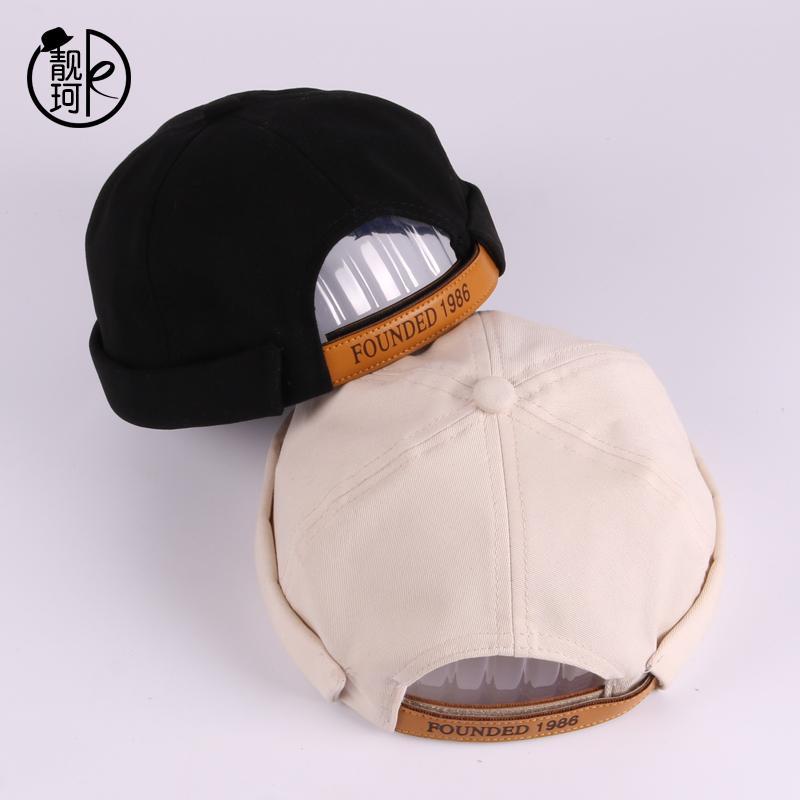Detail Gambar Liang ke Hip hop Retro Topi pelaut     kopiah topi tuan tanah 0c961875d0