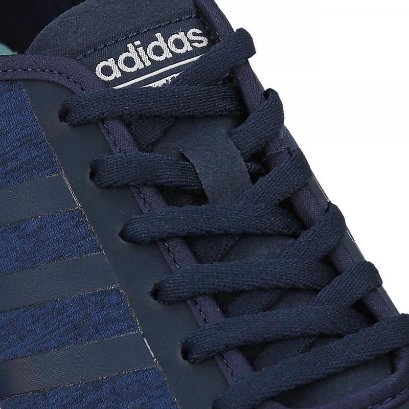 Adidas Sepatu running wanita Cloudfoam style racer TM W - BB9828 - navy .