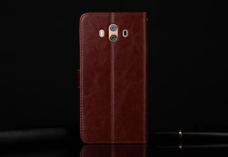 ... FLIP COVER WALLET Huawei Mate 10 Leather Case Kulit Dompet Casing Retro Vintage Premium Kick Stand