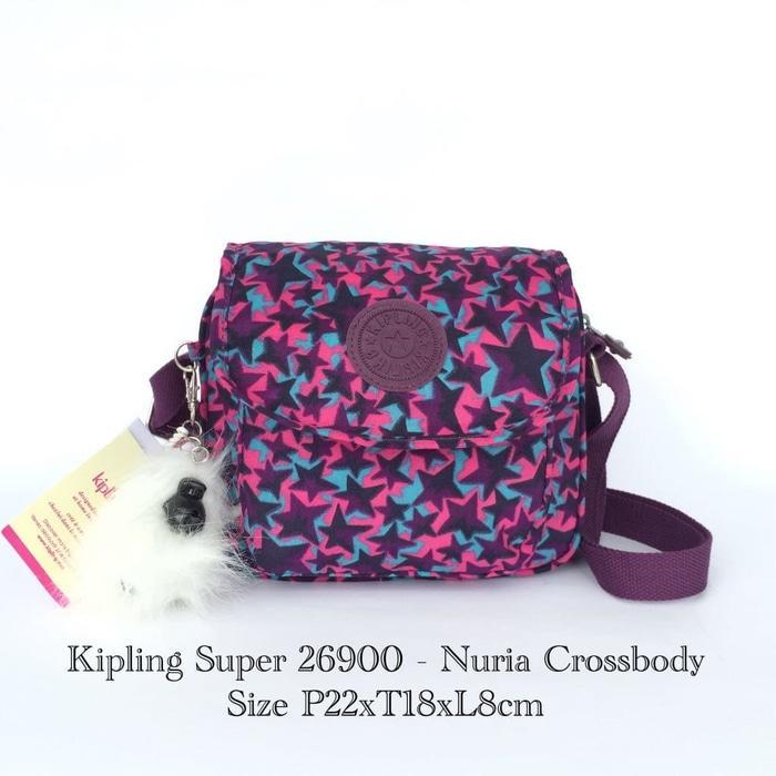 ORIGINAL!!! Tas Wanita Selempang Kipling Premium Nuria Crossbody 26900A - 6  - r2RJIr c3ae9dd703
