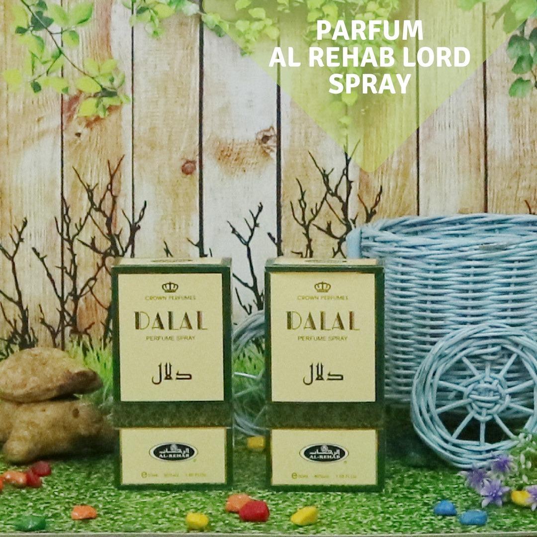 Spesifikasi Al Rehab Parfum Dalal Spray 50Ml Merk Al Rehab