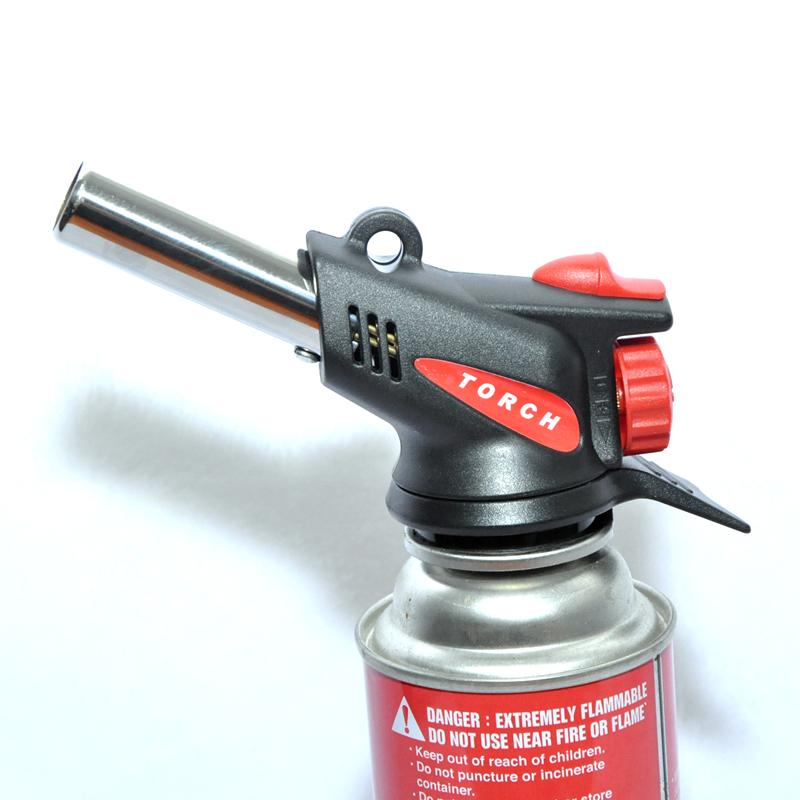 M-587C Gas Torch Auto Ignition Camping Welding Flame Thrower