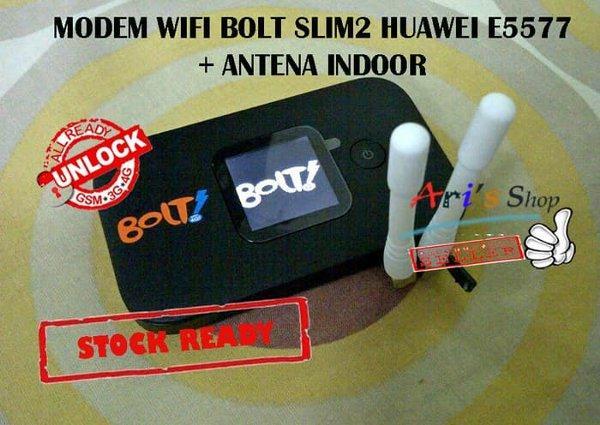 Detail Gambar PROMO TERLARIS MODEM WIFI 4G LTE BOLT SLIM2 SLIM 2 HUAWEI E5577 UNLOCK ANTENA INDOOR Terbaru