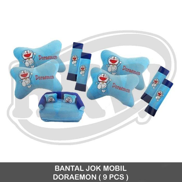 Bantal 9 Pcs Doraemon Mobil Agya Ayla